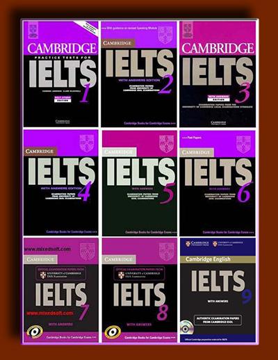آزمون های ایلتس کمبریج (1 تا 8)