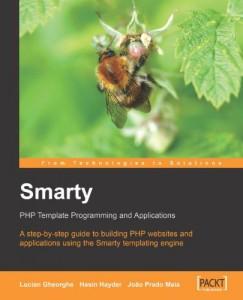 کتاب اپلیکیشن ها و برنامه نویسی قالب پی اچ پی Smarty