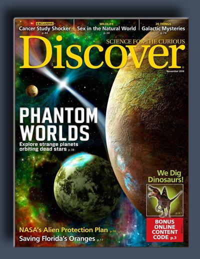 مجله ی Discover – نوامبر 2014