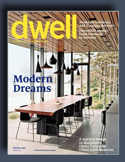 مجله ی Dwell – اکتبر 2014