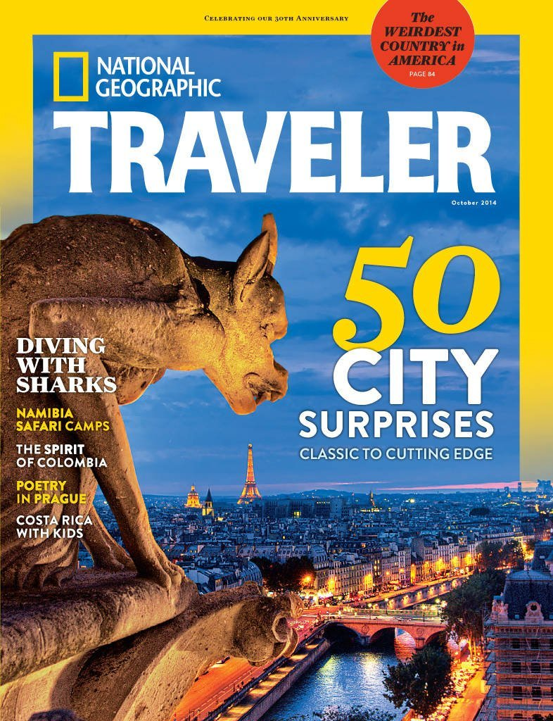 National Geographic Traveler USA - October 2014