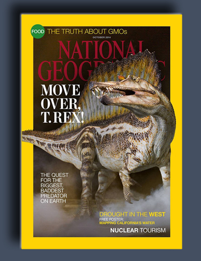 مجله ی National Geographic USA – اکتبر 2014