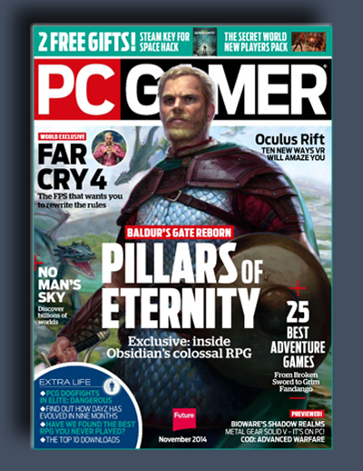 مجله ی PC Gamer UK – نوامبر 2014