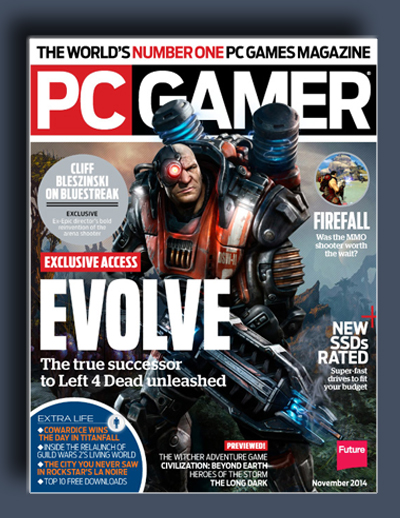 مجله ی PC Gamer USA – نوامبر 2014