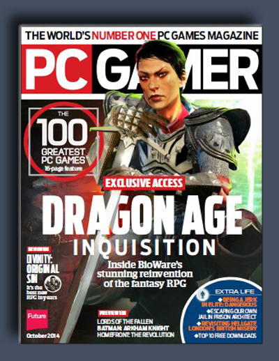 مجله ی PC Gamer USA – اکتبر 2014
