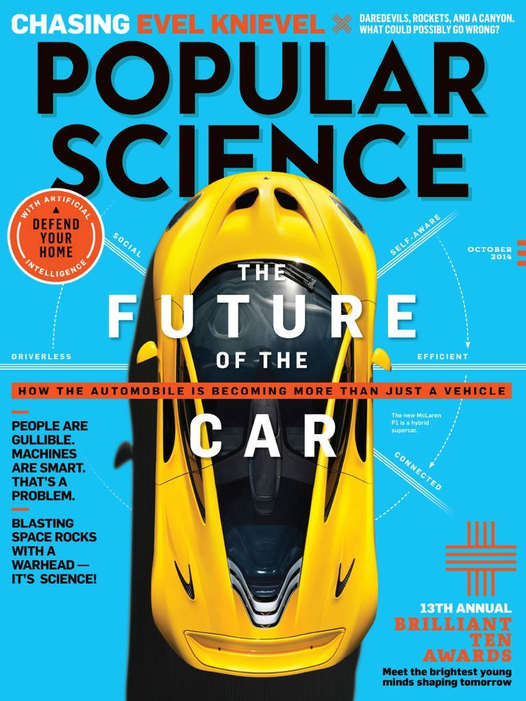 Popular Science USA - October 2014