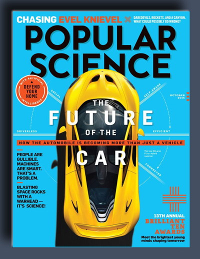 مجله ی Popular Science USA – اکتبر 2014