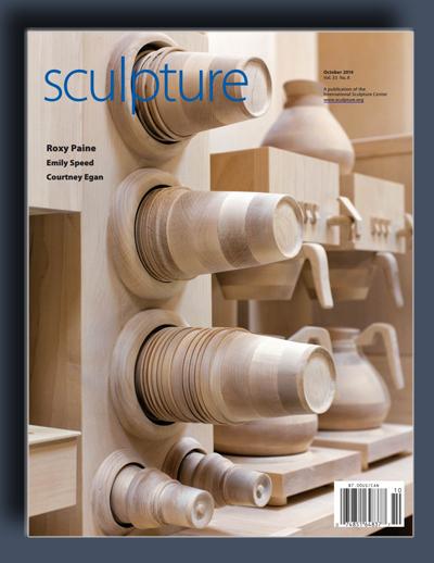 مجله ی Sculpture – اکتبر 2014