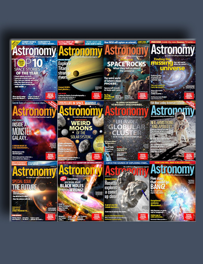 مجله ی Astronomy (مجموعه ی کامل شماره های سال 2014)