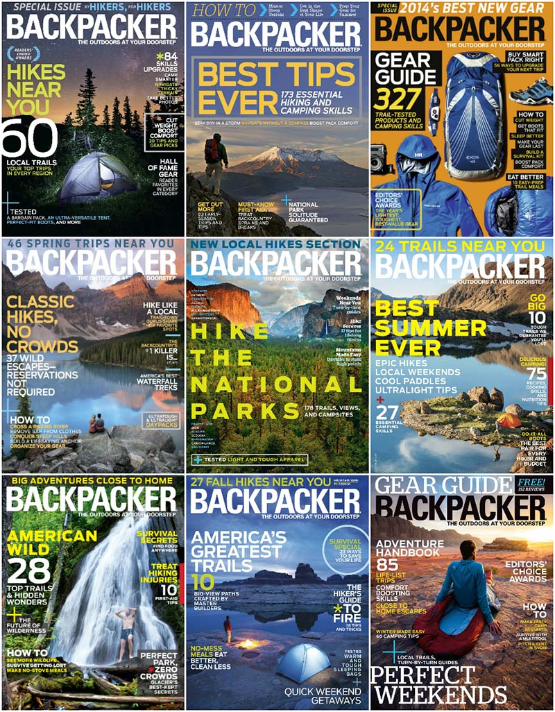 Backpacker - Full Year 2014 Issues Collection