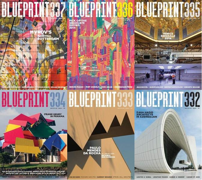 Blueprint Magazin 2014 Full Collection