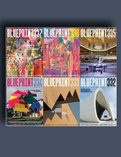 مجله ی Blueprint (مجموعه ی کامل شماره های سال 2014)