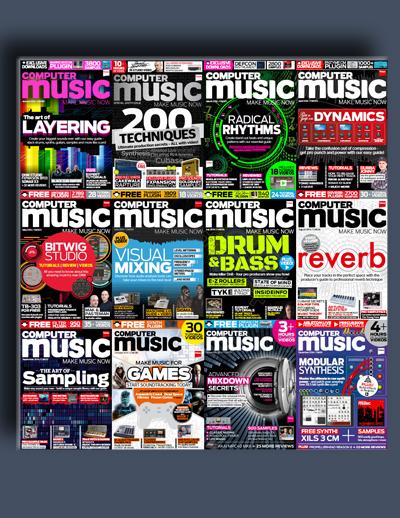 مجله ی Computer Music (مجموعه ی کامل شماره های سال 2014)