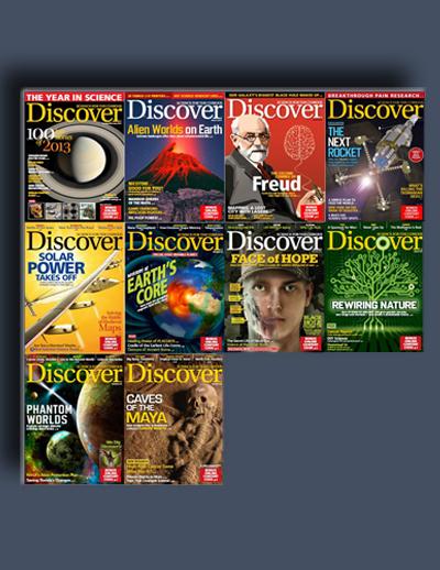مجله ی Discover (مجموعه ی کامل شماره های سال 2014)