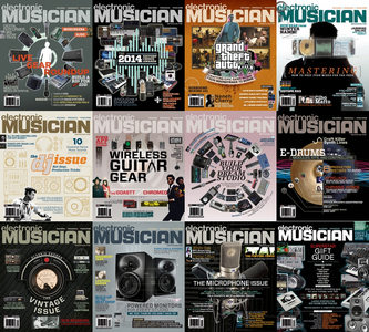 Electronic Musician - Full Year Collection 2014