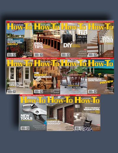 مجله ی Extreme How-To (مجموعه ی کامل شماره های سال 2014)