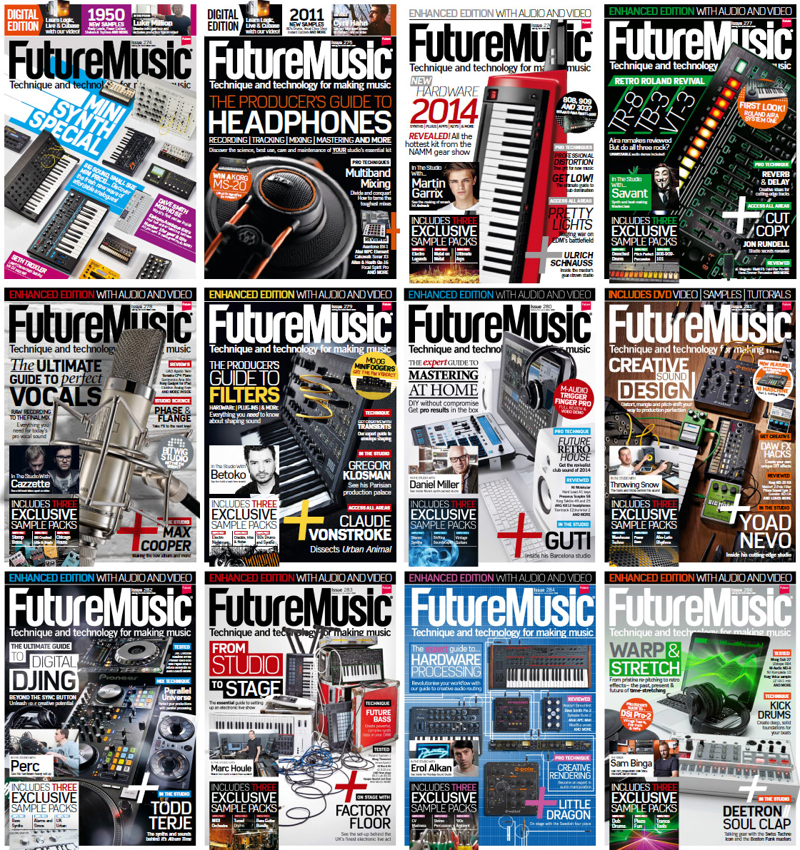 Future Music Magazine - 2014 Full Year Issues Collection