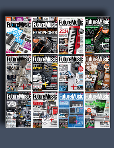 مجله ی Future Music (مجموعه ی کامل شماره های سال 2014)