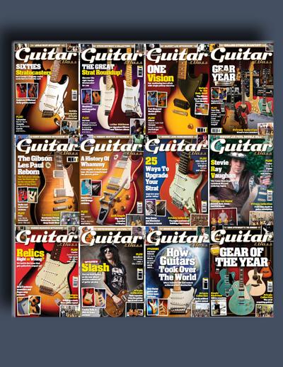 مجله ی Guitar & Bass (مجموعه ی کامل شماره های سال 2014)