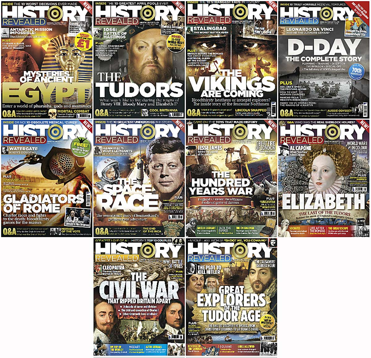 History Revealed - Full Year 2014 Issues Collection