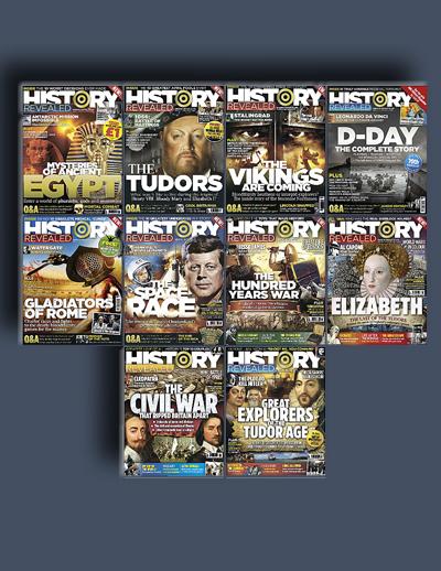 مجله ی History Revealed (مجموعه ی کامل شماره های سال 2014)