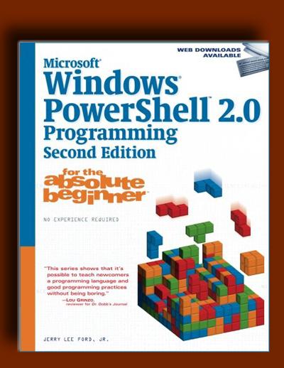 برنامه نویسی PowerShell 2.0 ویندوز مایکروسافت برای کاملا مبتدی ها(ویرایش دوم)