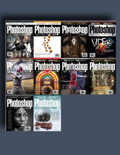 مجله ی Photoshop User (مجموعه ی کامل شماره های سال 2014)