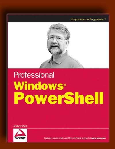 کتاب پاورشل (PowerShell) ویندوز حرفه ای