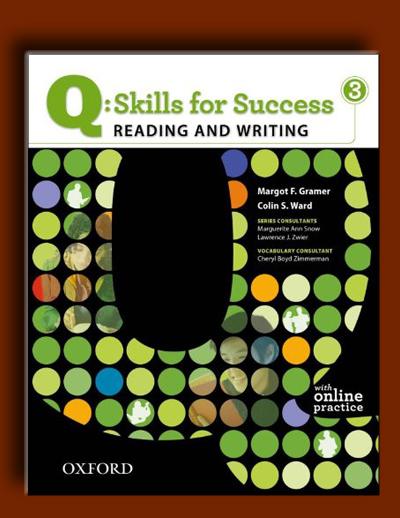 Q: مهارت های موفقیت 3 (Reading و Writing)