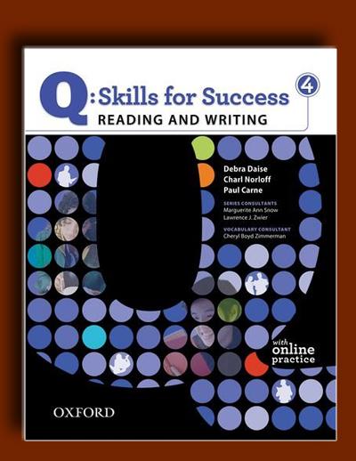 Q: مهارت های موفقیت 4 (Reading و Writing)