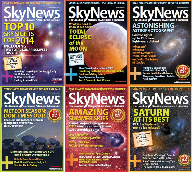 SkyNews Magazine - Full Year 2014 Issue Collection