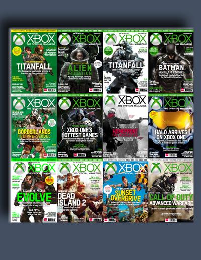 مجله ی Official Xbox (مجموعه ی کامل شماره های سال 2014)