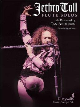 کتاب نت فلوت - تکنوازی های فلوت Jethro Tull