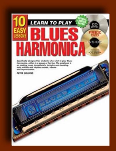 آموزش سازدهنی بلوز (هارمونیکا) – ده آهنگ ساده برای ساز دهنی