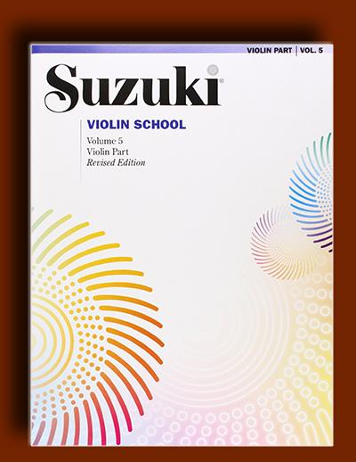 آموزش ویولن سوزوکی سطح پنجم