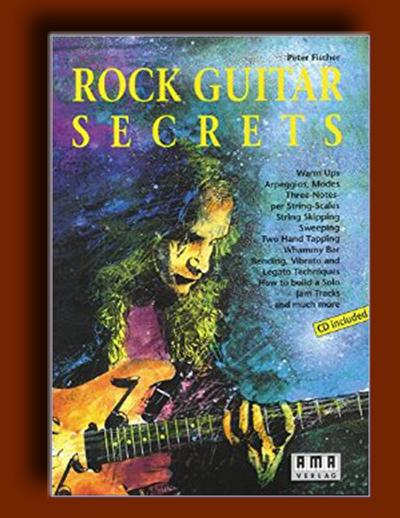 آموزش گیتار الکتریک : اسرار گیتار راک : آموزش گیتار راک