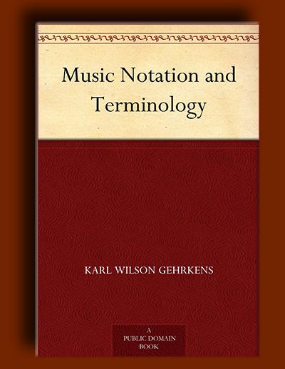 اصطلاح شناسی و نت نویسی موسیقی