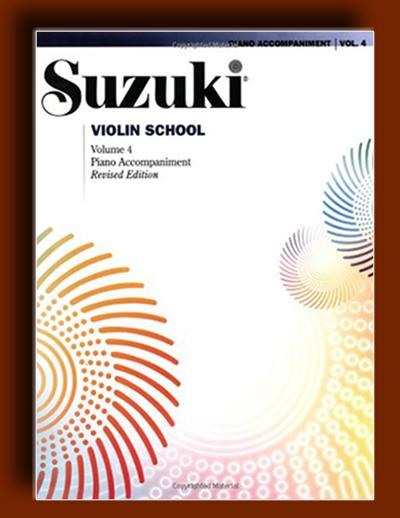تمرینات پیانو جلد چهارم آموزش ویولن سوزوکی