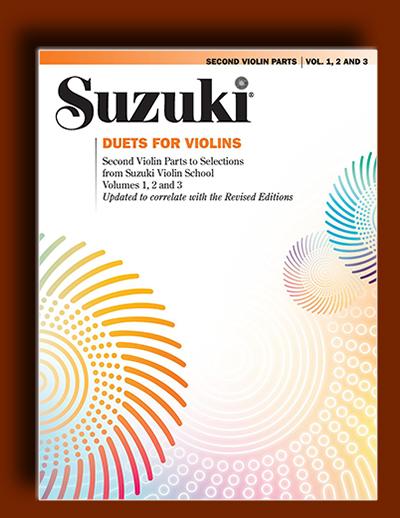 دوئت های برای ویولن : بخش های دوم کتاب های ویولن سوزوکی