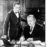دویل به همراه پسرش آدرین در سال 1930، آخرین سال زندگی اش