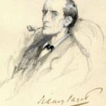 پرتره ی شرلوک هولمز اثر سیدنی پجت (Sidney Paget) در سال 1904