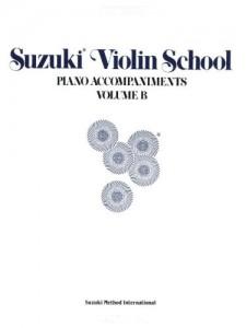 قطعات همراه پیانو برای ویولن سوزکی جلد B - (از کتاب 6 تا 10)