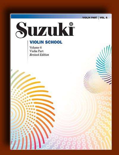 متد آموزش ویولن سوزوکی – جلد 6