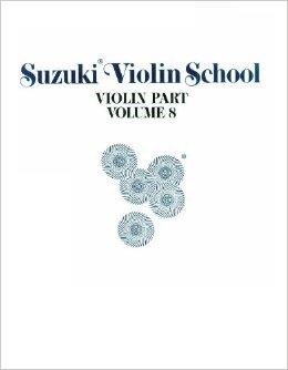 متد آموزش ویولن سوزوکی - کتاب 8