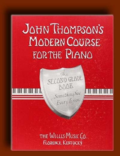 متد آموزش پیانو جان تامپسون : سطح دوم