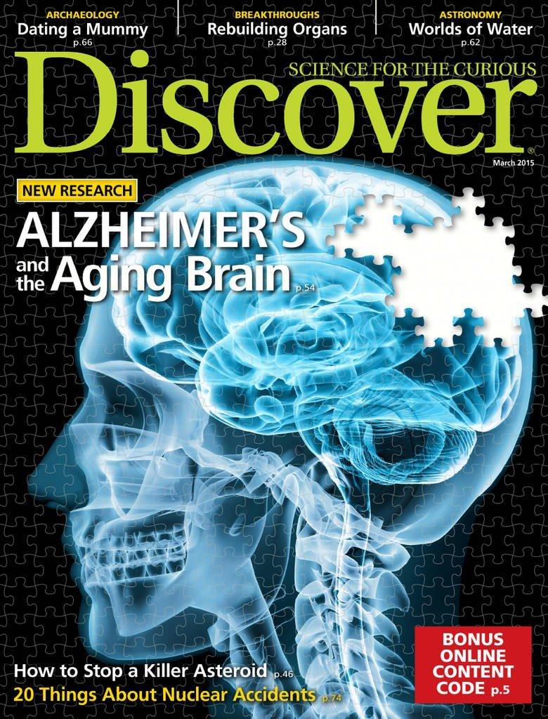 مجله ی Discover – مارس 2015