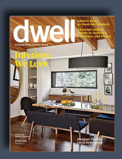 مجله ی Dwell – مارس 2015