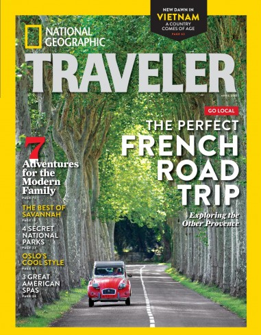 مجله ی National Geographic Traveler USA – آوریل 2015