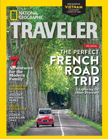 مجله ی National Geographic Traveler USA – آوریل 2015