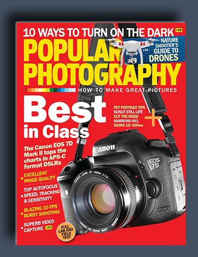 مجله ی Popular Photography – فوریه 2015